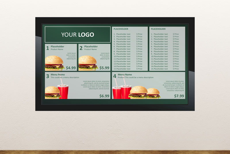 Free Digital Signage Templates • PresentationPoint
