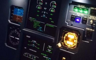 Why a Flight Simulator Company Uses Airport Flight Information Screens