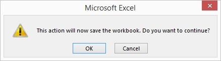 save workbook after changes