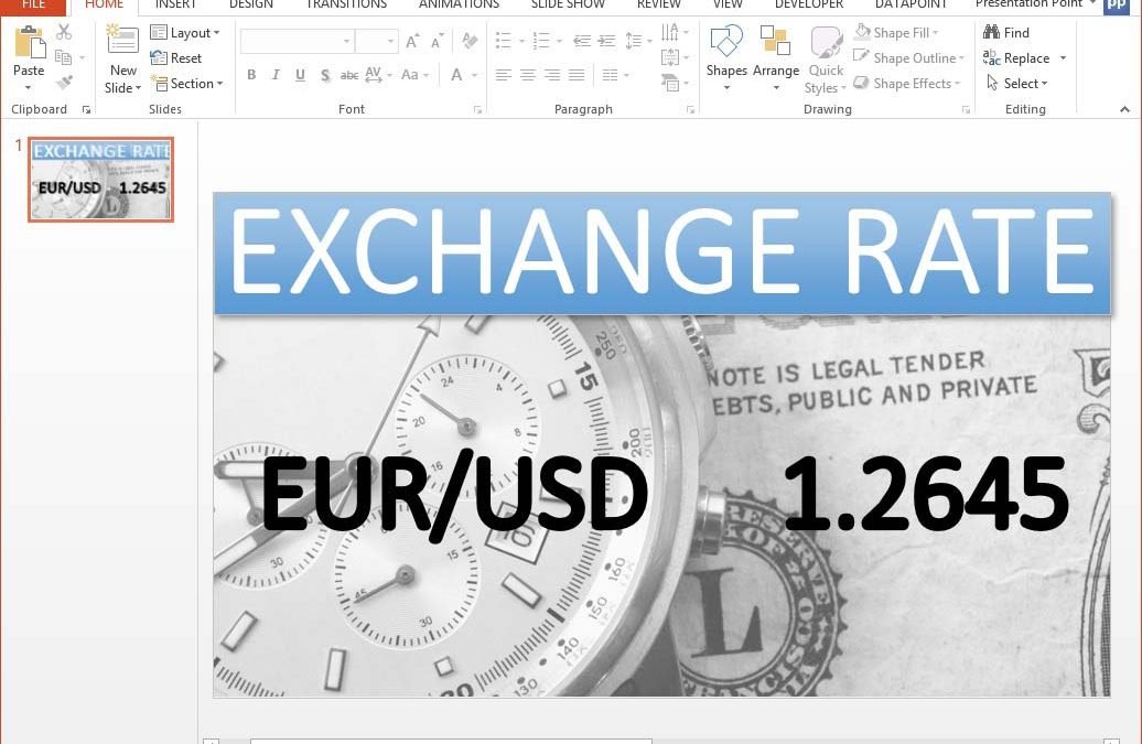 Now You Can Display Live Currency Exchange Rates on a Screen