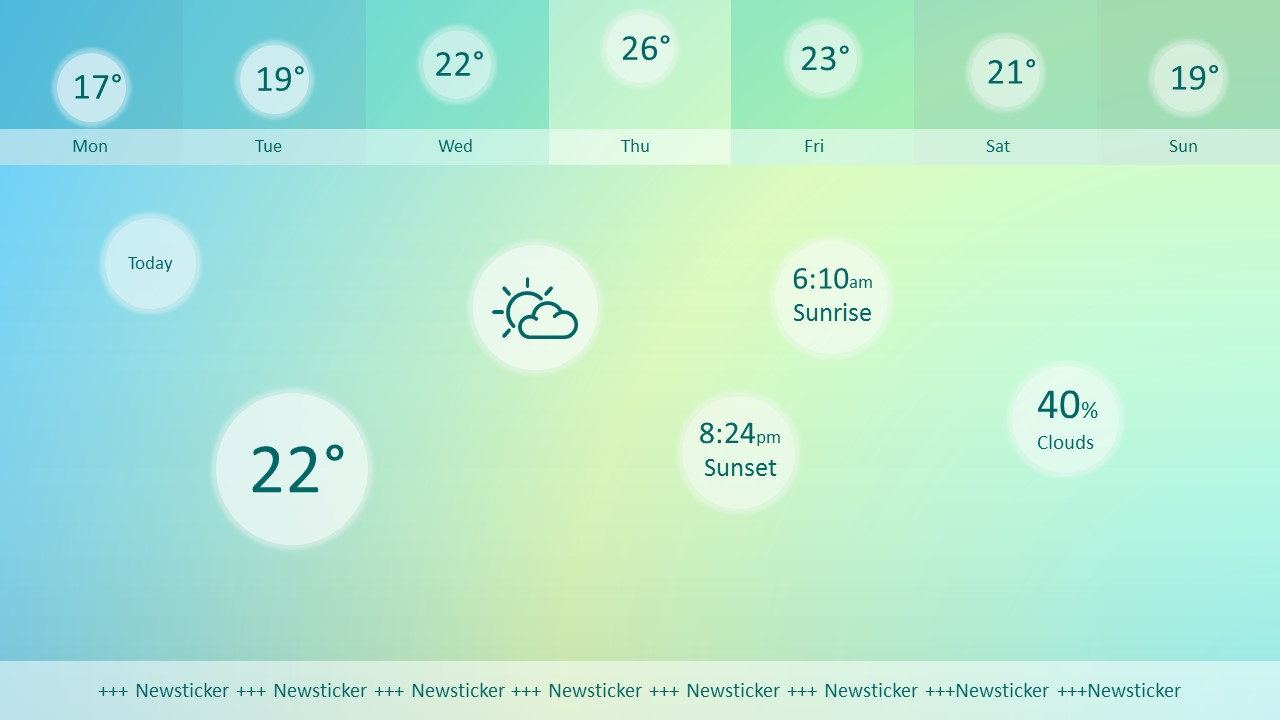 Weather forecast powerpoint template real time weather forecasts powerpoint template toneelgroepblik Choice Image