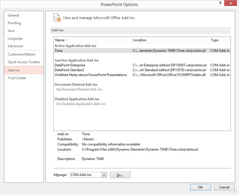 Troubleshoot PowerPoint Add-on Load Failures