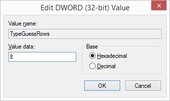 edit value