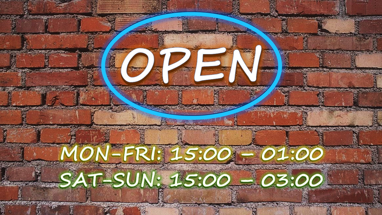pub opening hours