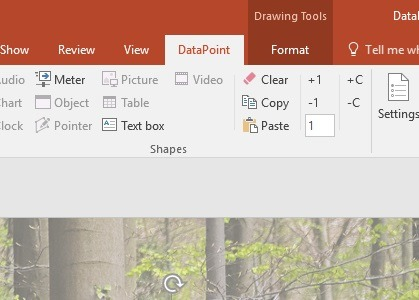 Using DataPoint Shortcuts to Make Faster Dynamic Presentations