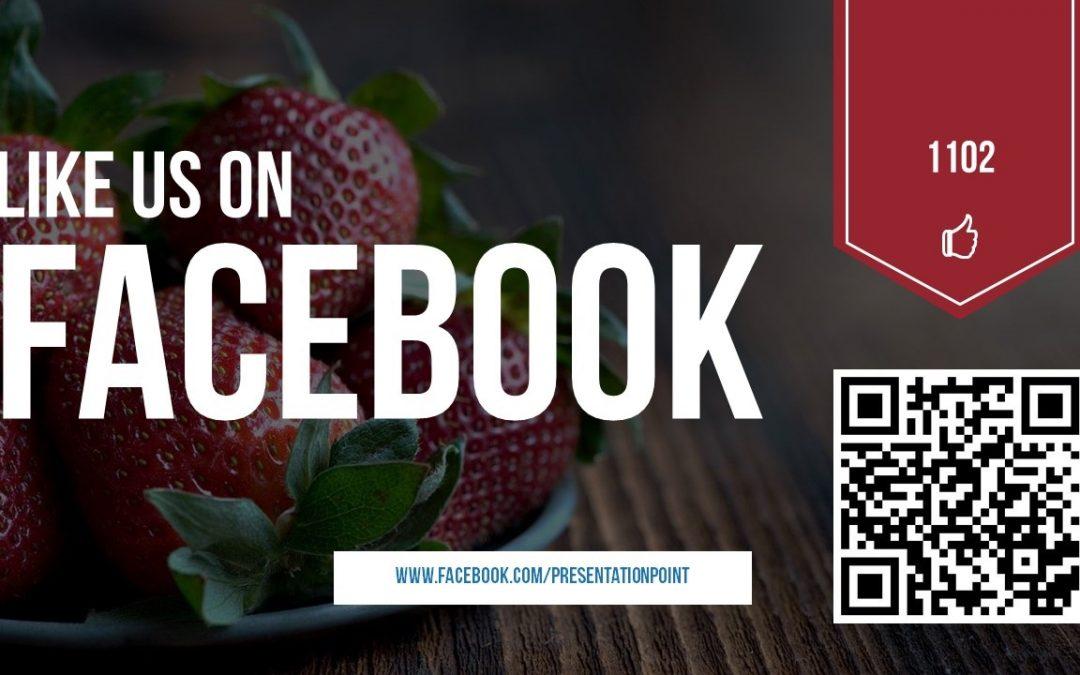 Facebook Display on PowerPoint Slides