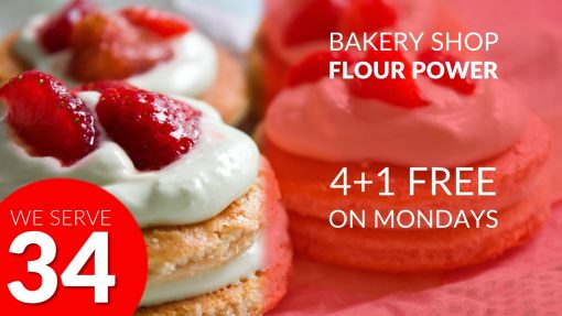 Premium PowerPoint template for Bakery Shop