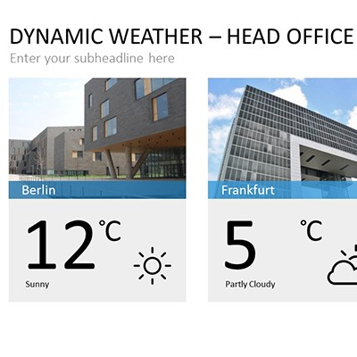 dynamic weather product