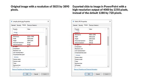 Convert PowerPoint to JPEG (High Quality)