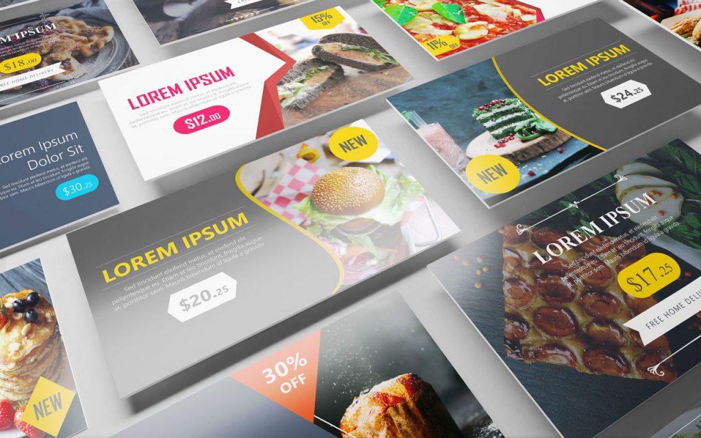 in-store media - food advertising