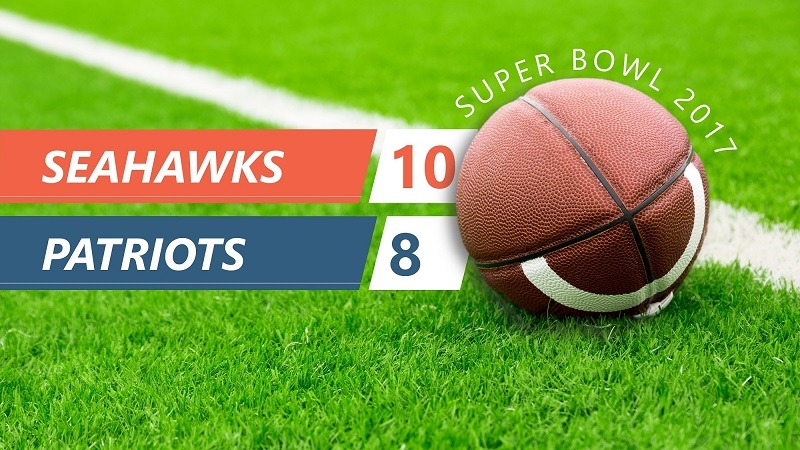 Super Bowl Live Score
