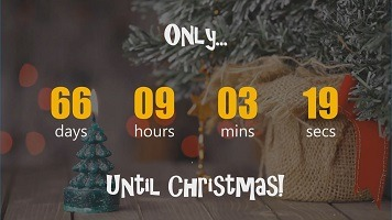 Countdown to Christmas in PowerPoint