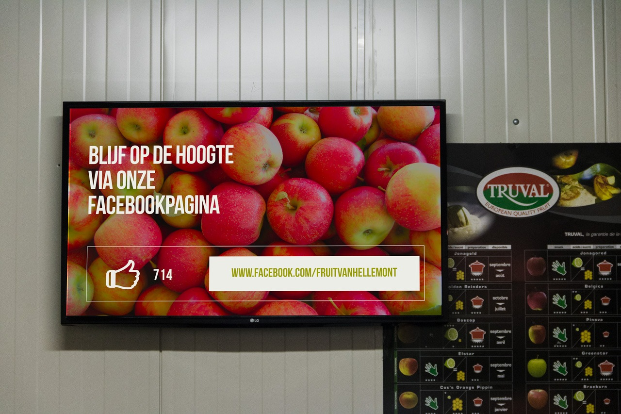 fruit farmer digital signage 2