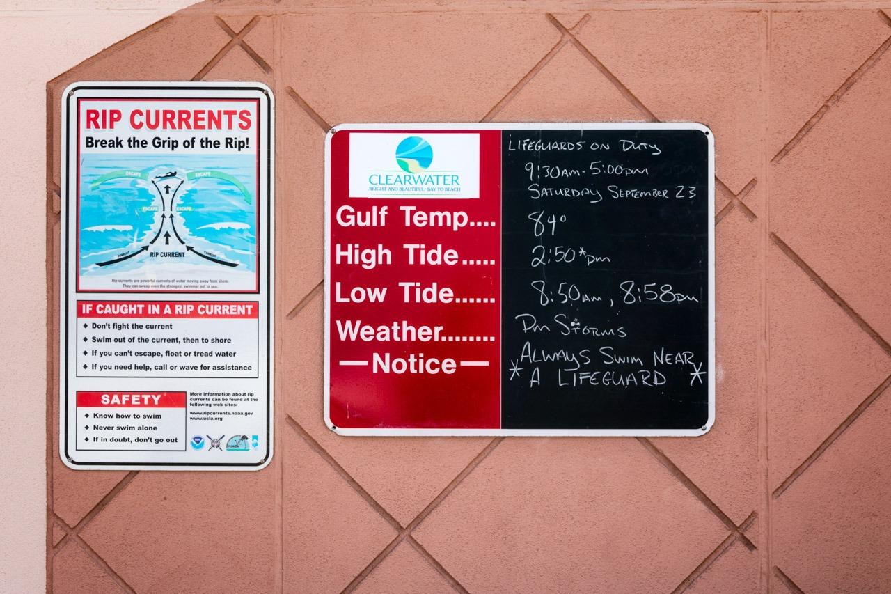 Original Swimming Sign on Chalk Board