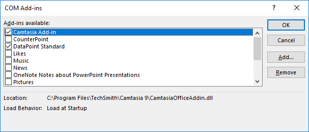 Troubleshoot PowerPoint Add-in Load Failures • PresentationPoint