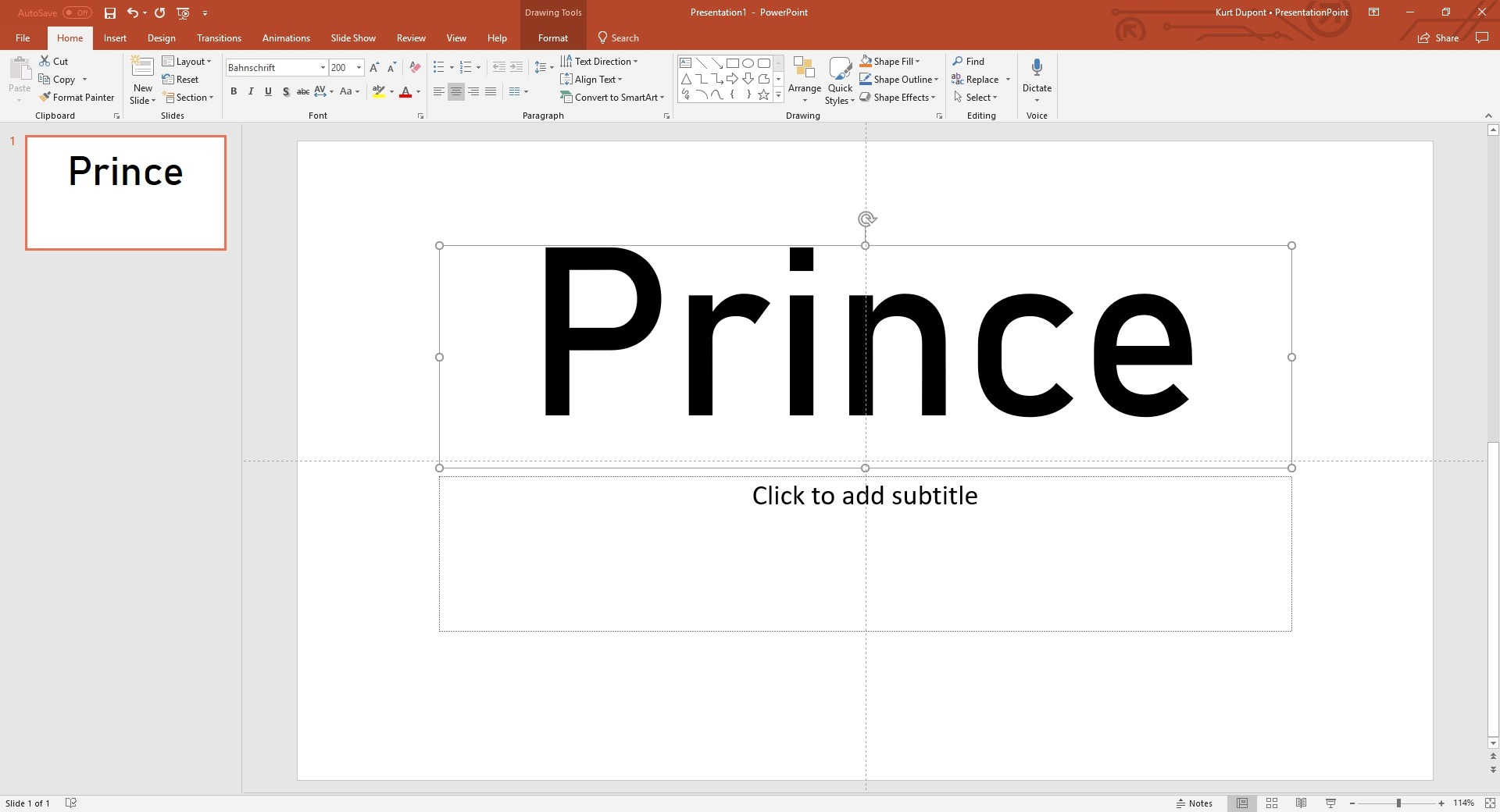 Dynamic PowerPoint Font Size Scaling