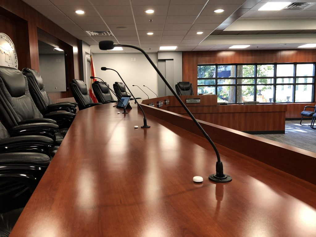 City of Winter Springs Meeting Room