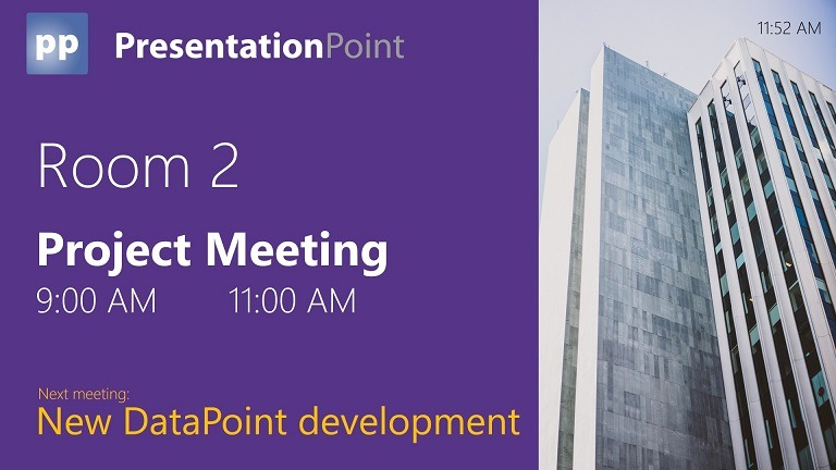 Meeting Room Booking System: Exchange & PowerPoint