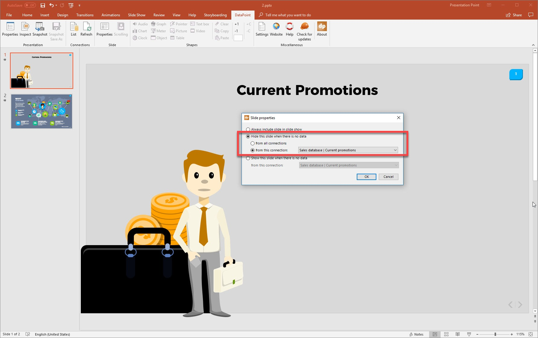 The Magic to Show or Hide PowerPoint Slides Dynamically
