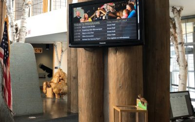 Museum Digital Signage: The Wild Center