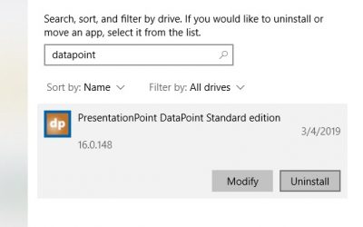 FAQ: How do I Remove DataPoint From my PowerPoint Application?