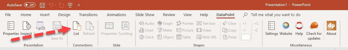 FAQ: How Do I Add A Ticker Symbol Using DataPoint