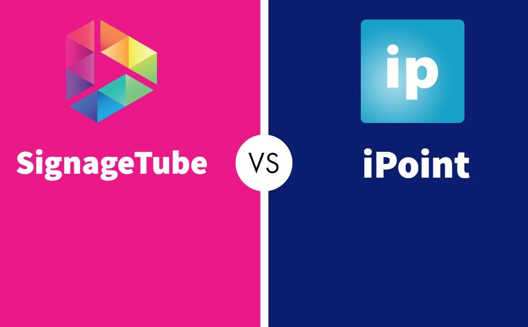 Digital Signage: SignageTube vs iPoint