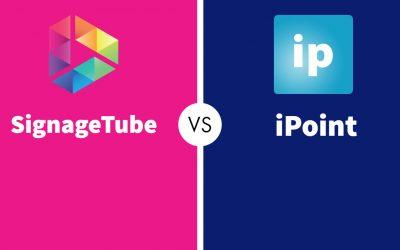 Digital Signage: SignageTube vs iPoint