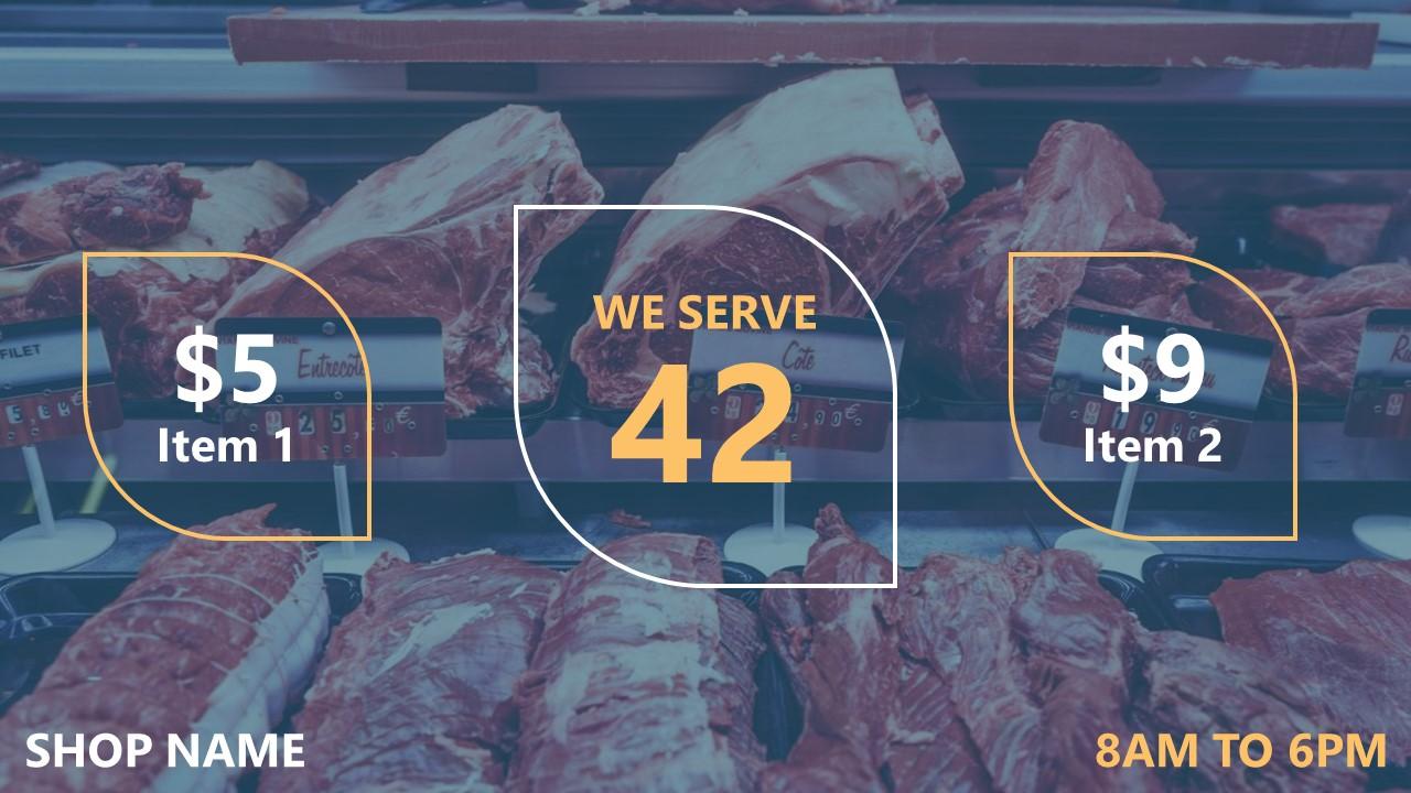 DIY queue management system for butchers