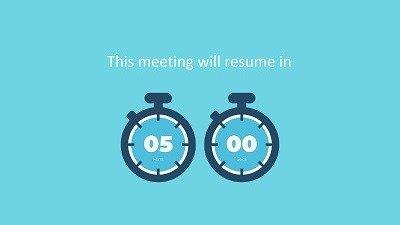 25 free meeting break slides