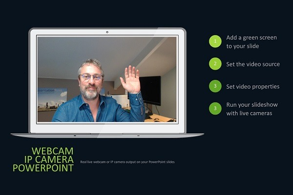 Live Cameras in PowerPoint (webcams, IP cameras and streaming videos)