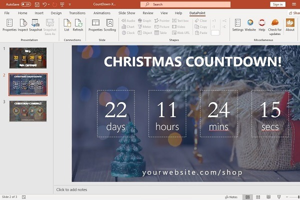 Countdown to Christmas 2019