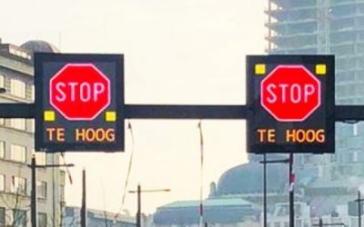 PowerPoint Road Signalization in Antwerp, Belgium