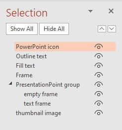 The PowerPoint Selection Pane