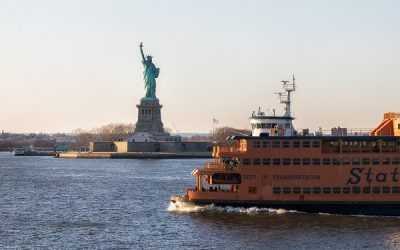 Staten Island Ferry Schedule Displays