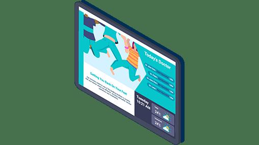 digital signage in the cloud Multimedia displays