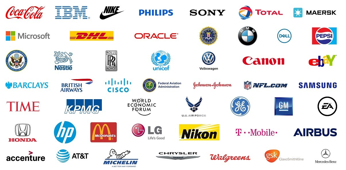 some of the customers and companies using PresentationPoint software