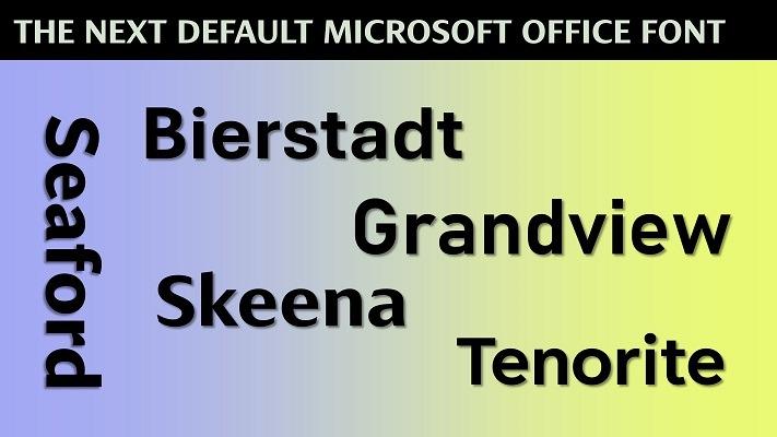 Meet the Bierstadt, Grandview, Seaford, Skeena and Tenorite